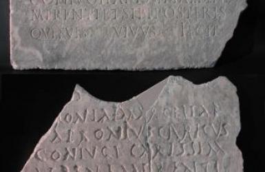 Epigrafe funeraria di Apronia Marcella